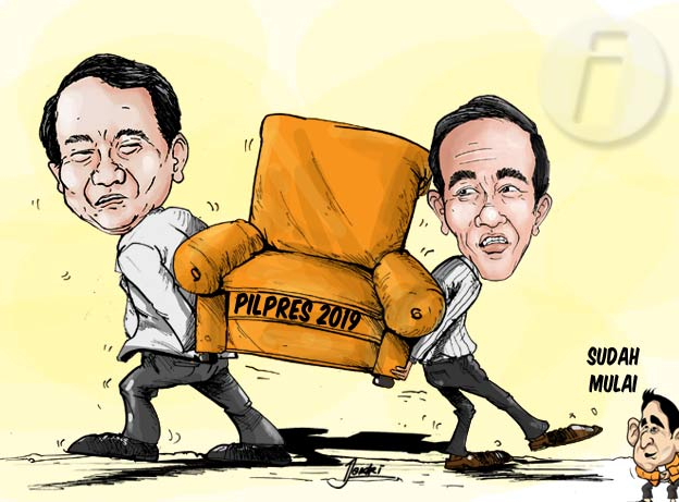 Lawan Jokowi  Bukan Prabowo 50detik